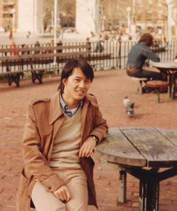 内田やすひろ 1975年11月、ニューヨーク