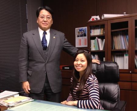 Okazaki mayor's niece