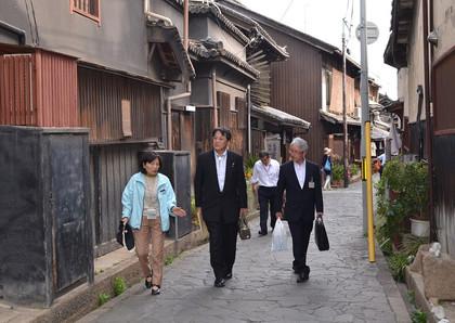 広島県福山市訪問