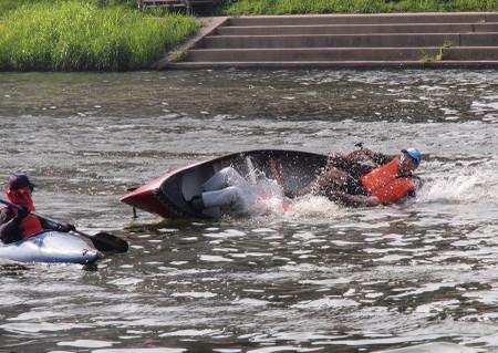 岡崎城下・家康公夏まつり カヌー体験