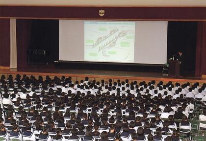 岡崎市立南中学校 2013年6月1日
