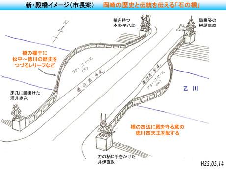 新・殿橋イメージ(市長案)