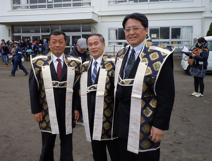 柾木太郎市議、新海正春市議、内田康宏