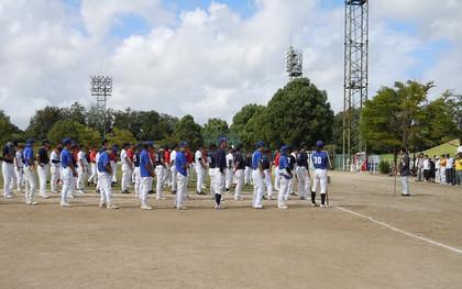 岡崎理容組合のソフトボール大会