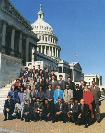 アメリカ政府MRPプログラム参加者とスタッフ