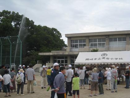 平成24年度 岡崎市地域総合防災訓練