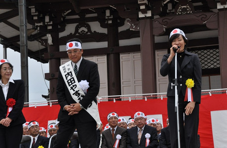 安倍昭恵さん 2012年10月14日