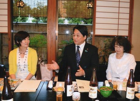安倍昭恵さん、私、ウチの嫁さん