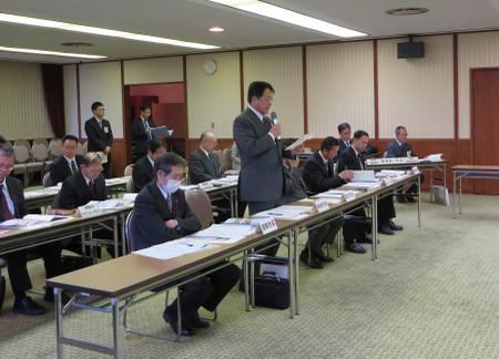 国道301号・473号合同要望会(2014年2月3日)