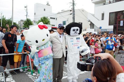 キティちゃん、オカザえもん(2014年8月1日)
