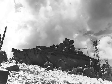 The Battle of Peleliu (Wikimedia Commons)