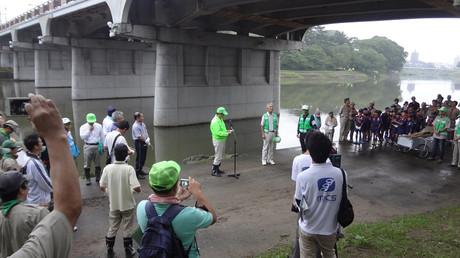 菅生川草刈一斉清掃 (2014年9月7日)
