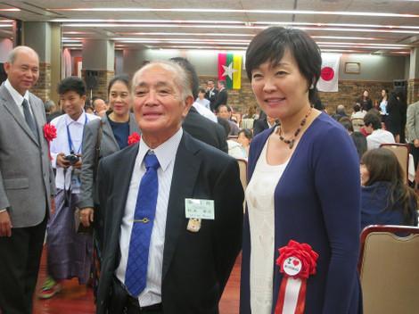 安倍昭恵さん、松井幸彦先生