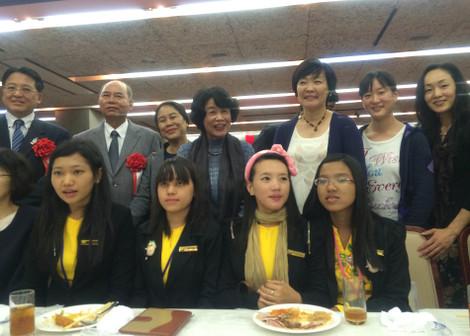 ミャンマー大学生訪日団、ホストファミリーの皆さん