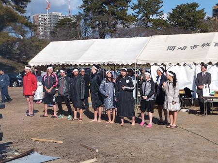 第40回 岡崎水泳協会寒中水泳