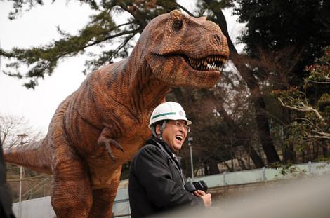 内田康宏とティラノサウルス