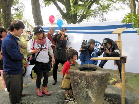 竹っちょ(岡崎公園・東照公産湯の井戸)