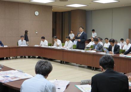 愛知県建設部への要望会
