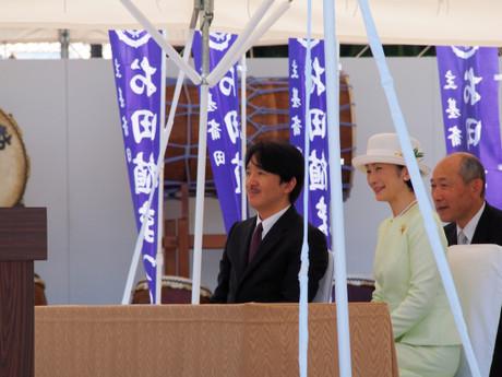 秋篠宮同妃両殿下(2015年6月21日)