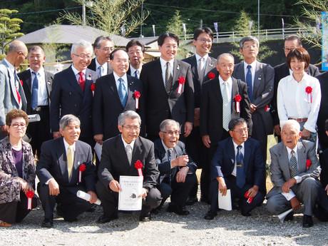 主基斎田100周年記念お田植まつり