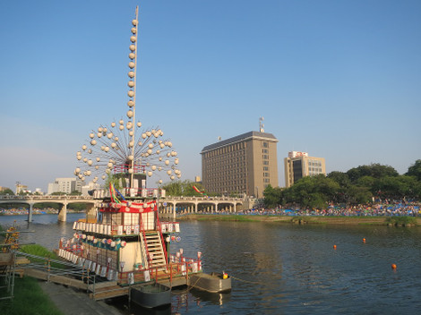 菅生神社の鉾船(天王丸)