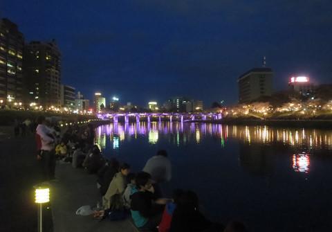 殿橋と乙川