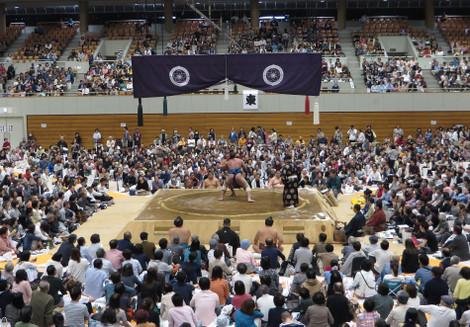 大相撲岡崎場所(2016年4月6日)
