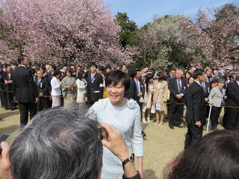 桜を見る会(2016年4月9日)