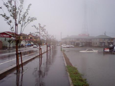平成20年8月末豪雨(占部右岸・井内地区)