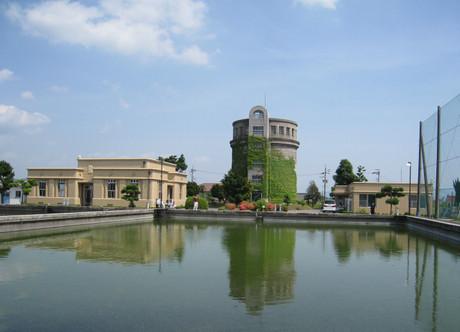岡崎市・六供配水場