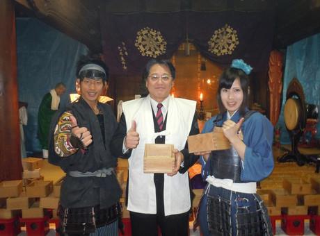 服部正成と稲姫