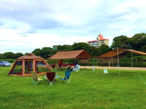 まちなか乙川キャンプ場