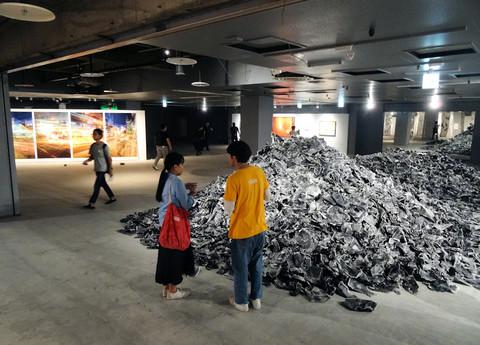 あいちトリエンナーレ2016(岡崎シビコ6階)
