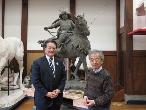 神戸峰男先生、内田康宏