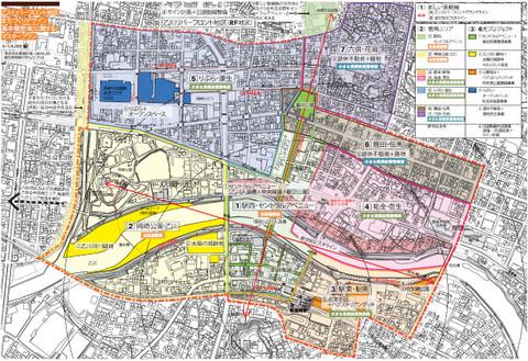 乙川リバーフロント地区まちづくりデザイン基本構想・市民提案書