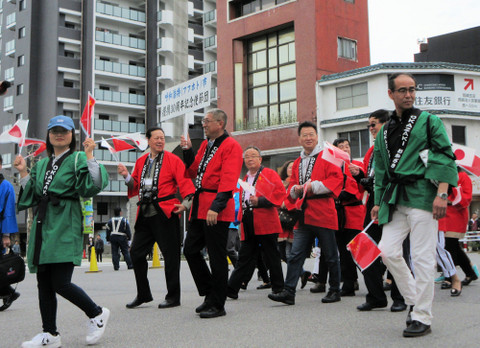 家康行列・フフホト市提携30周年記念使節団
