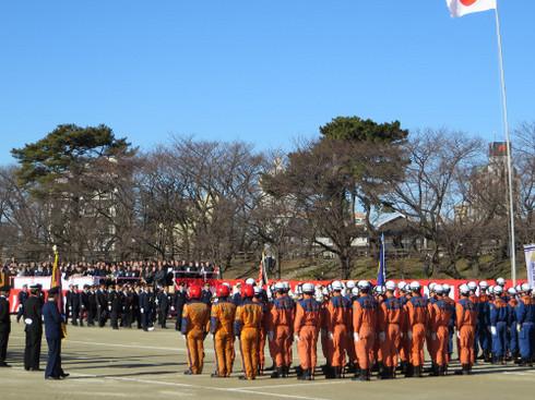 岡崎市消防出初式