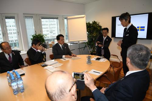 ストックホルム日本商工会、樗木健一会長