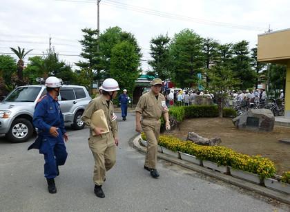 平成25年度 岡崎市地域総合防災訓練