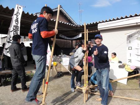 松應寺横丁にぎわい市(2012年11月24日)