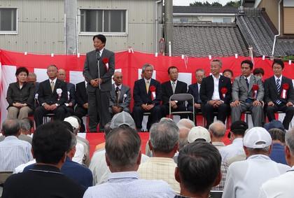 柴田いずみ市議 事務所開所式