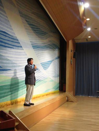 矢作東学区の敬老会。やはぎかんにて
