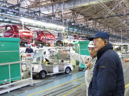三菱自動車工業岡崎工場