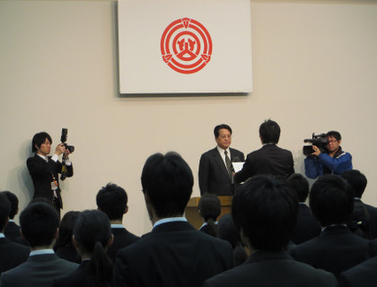 平成26年4月1日 新規採用職員辞令交付式