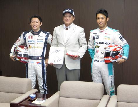 Kazuki Nakajima and Daisuke Nakajima (August 1, 2014)