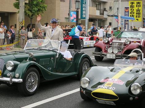 交通安全啓発パレード(2014年8月1日)