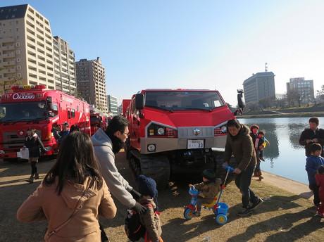岡崎市消防出初式(2015年1月11日)