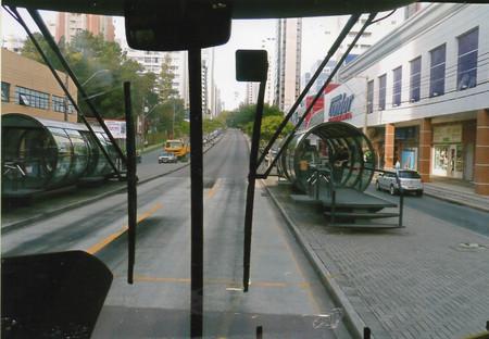 ブラジル・クリチバ市にて(2008年8月6日)