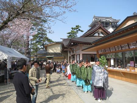 龍城神社の稚児行列(2015年3月22日)