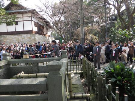 岡崎城・東照公産湯の井戸